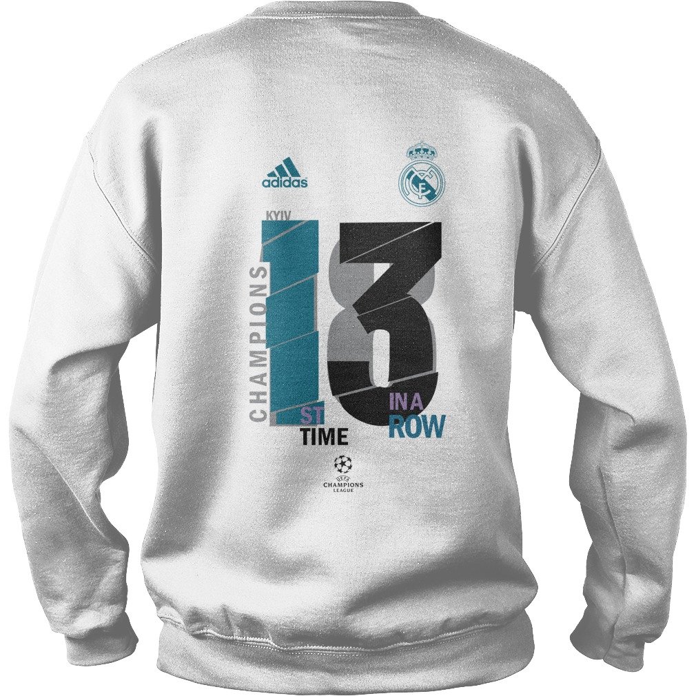 2d1833406 Real Madrid 13 Champions League Sweater. Sweater