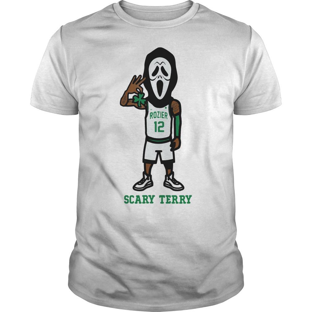 Scary Terry Celtics Shirt