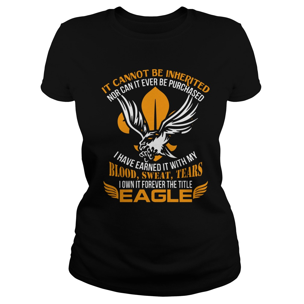 It Cannot Be Inherited Eagle Ladies
