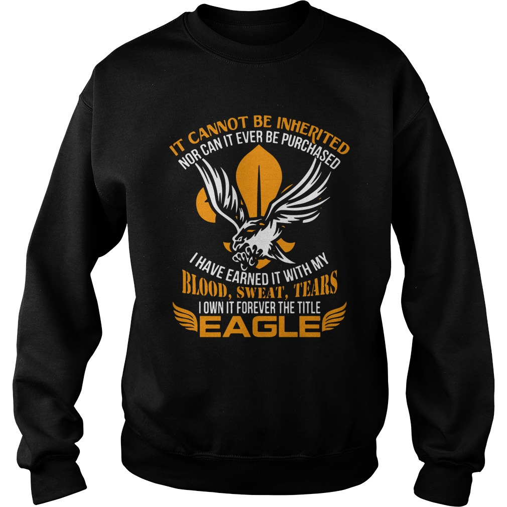 It Cannot Be Inherited Eagle Sweater