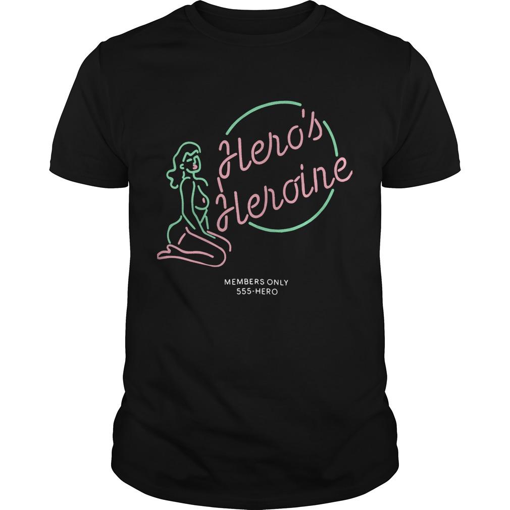 ro's Heroine Member's Only T Shirt
