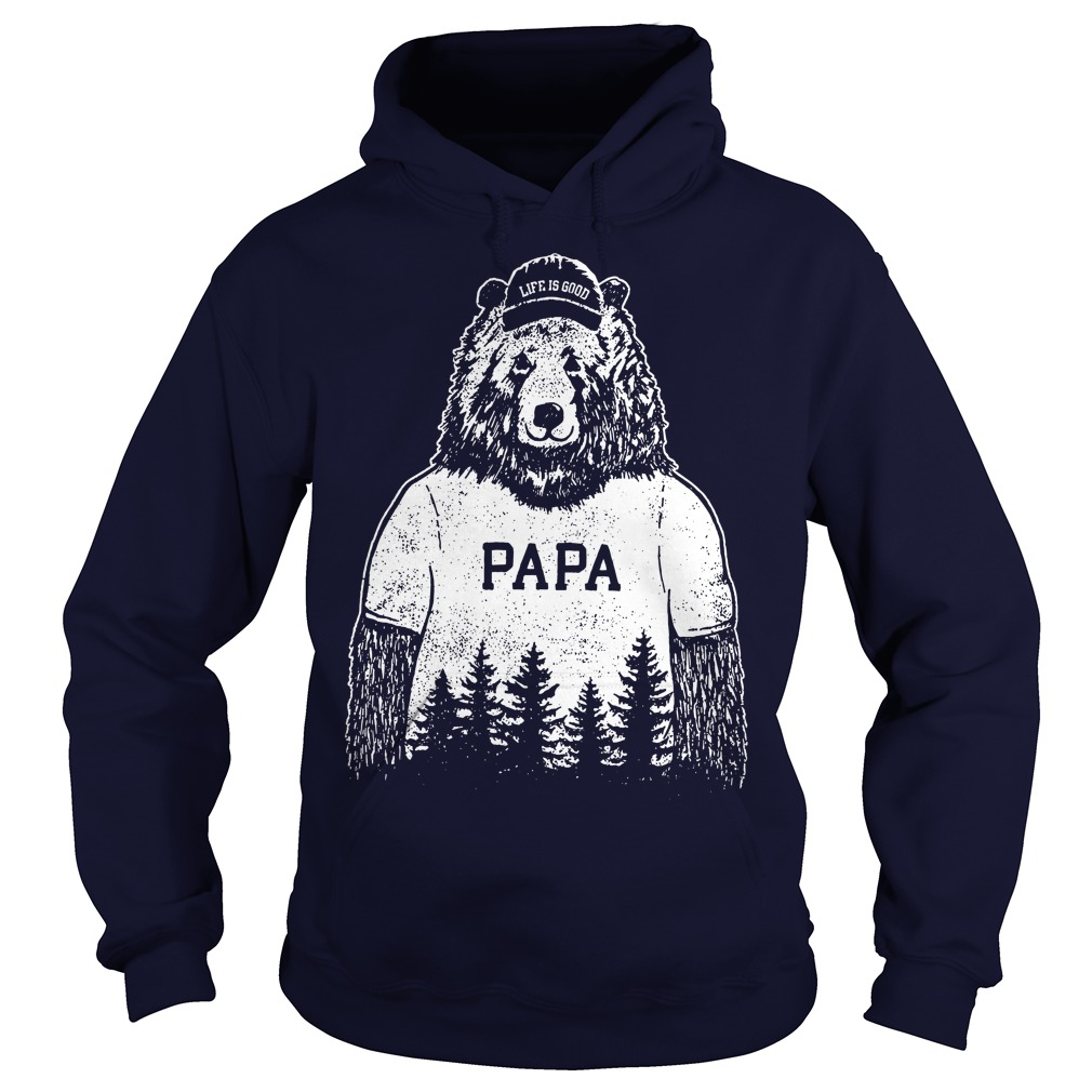6bd1d4e8c2c Life Is Good Papa Bear Hoodie
