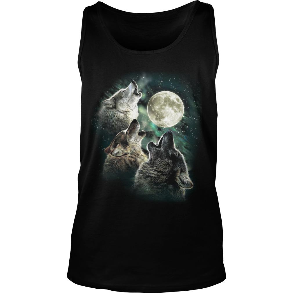 Three Wolf Moon Tank Top