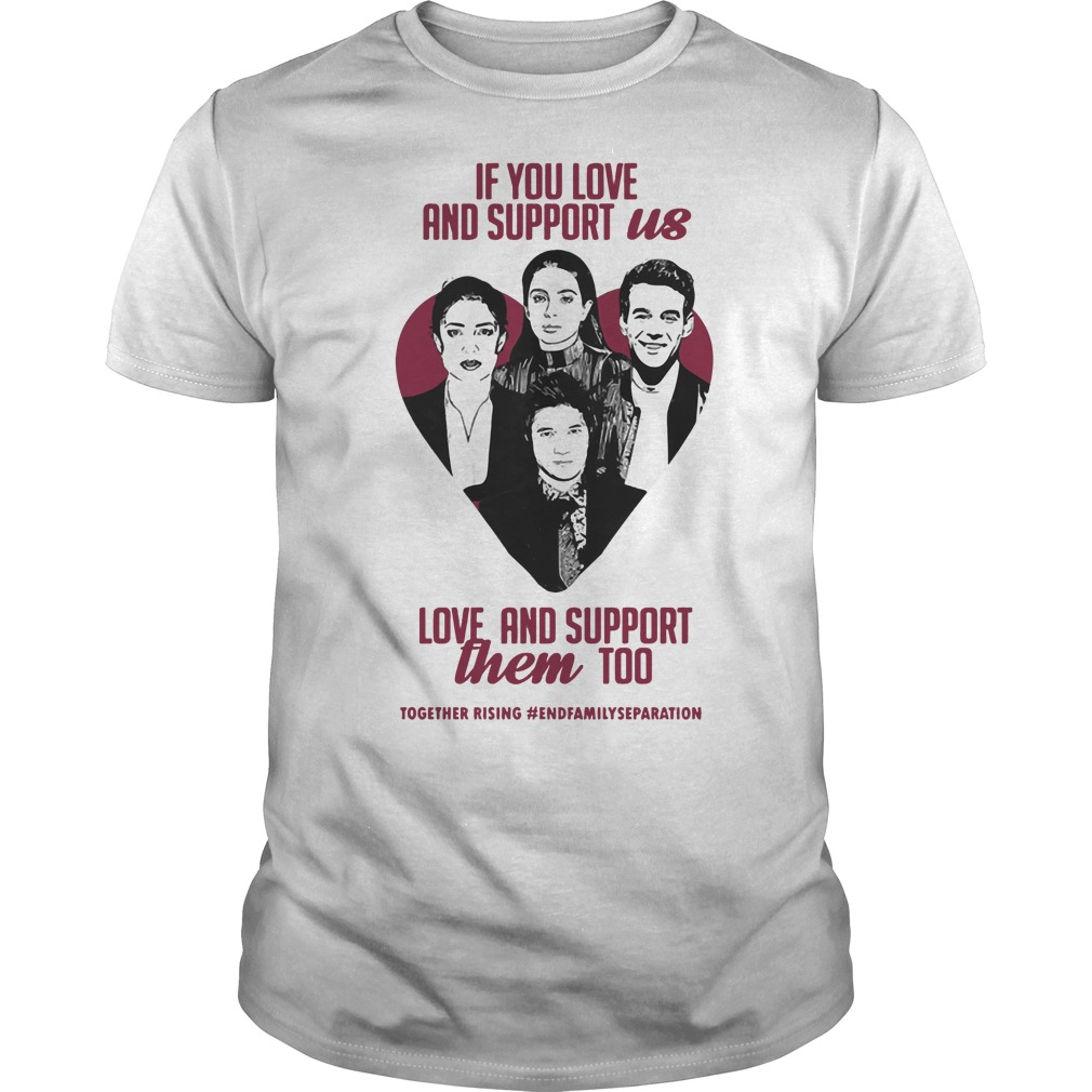 Us Them For Together Rising Shirt