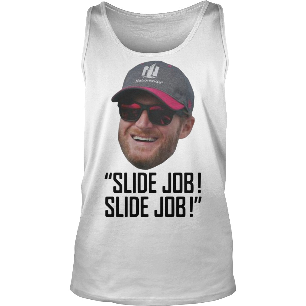 Dale Earnhardt Jr Slide Job! Slide Job Tank Top