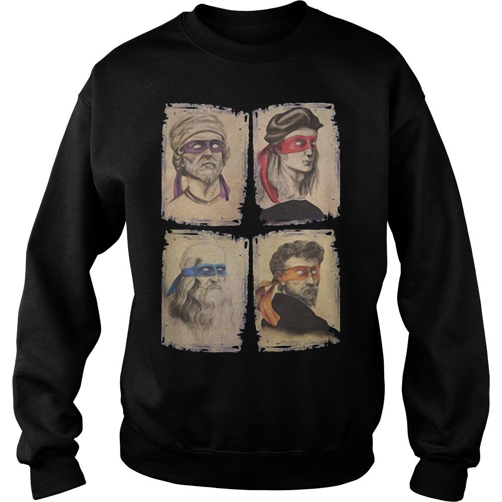 Michelangelo, Leonardo, Donatello, Raphael Sweater
