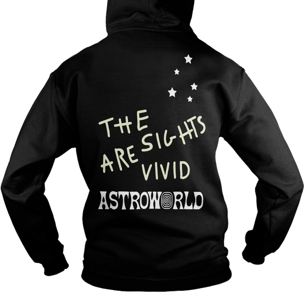 Astroworld Enjoy The Ride L/s Back Hoodie