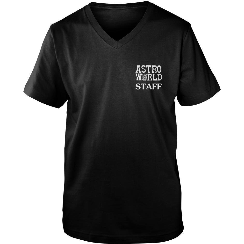Astroworld Staff Guys V-Neck