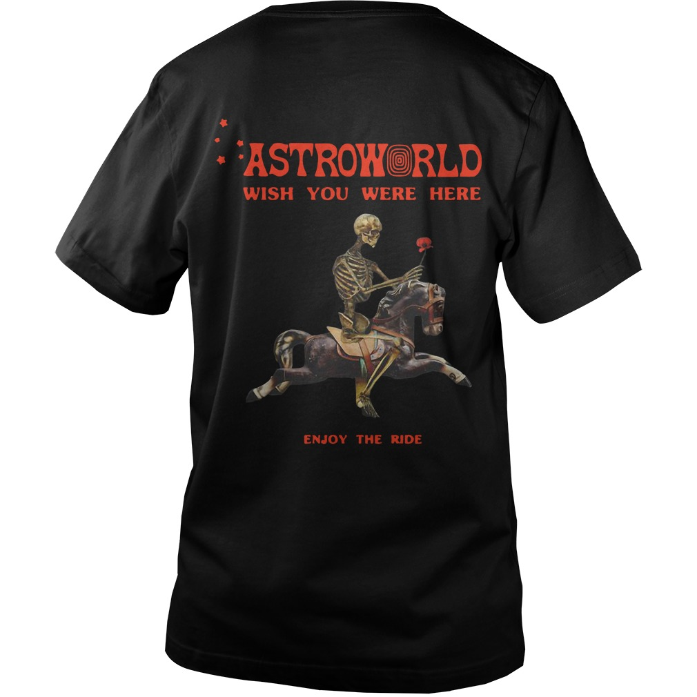 28b32feab59d Astroworld Season Pass Back Guys V-Neck - Astroworld Wish You Were Here  Enjoy The. Back Guys V-Neck. Astroworld Season Pass Longsleeve Tee ...