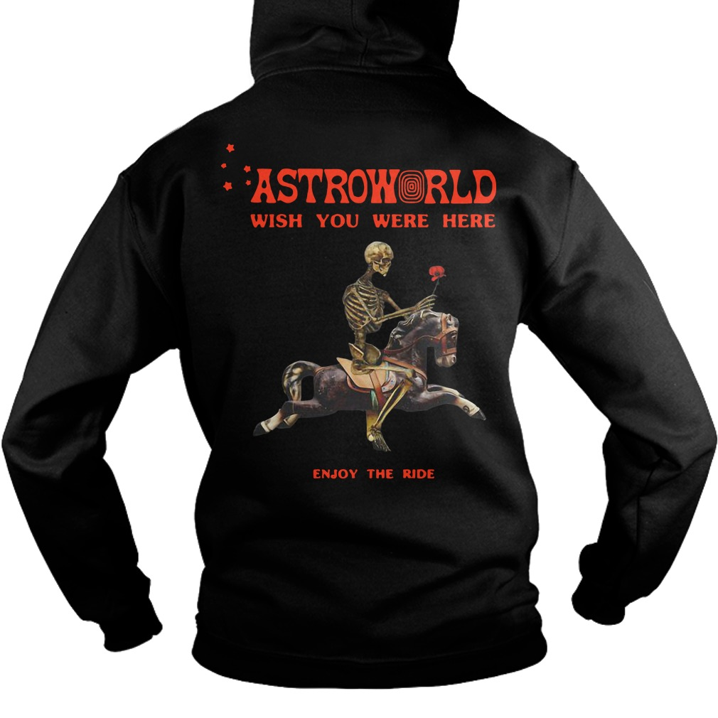ff2c2da62e51 Astroworld Season Pass Back Hoodie - Astroworld Wish You Were Here Enjoy  The Ride Back Hoodie. Back Hoodie. Astroworld Season Pass Shirt ...