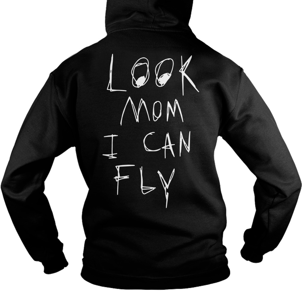 Back Nike Travis Scott Astroworld Look Mom I Can Fly Hoodie