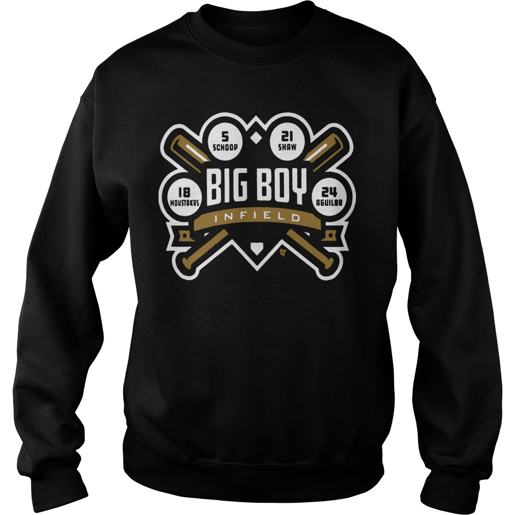 Big Boy Infield Sweater