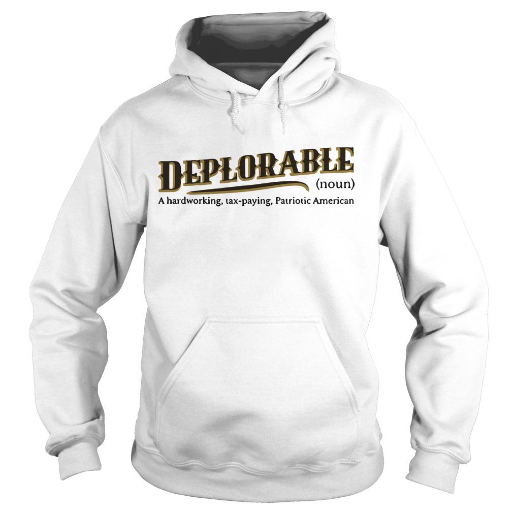 definition of deplorable Hoodie