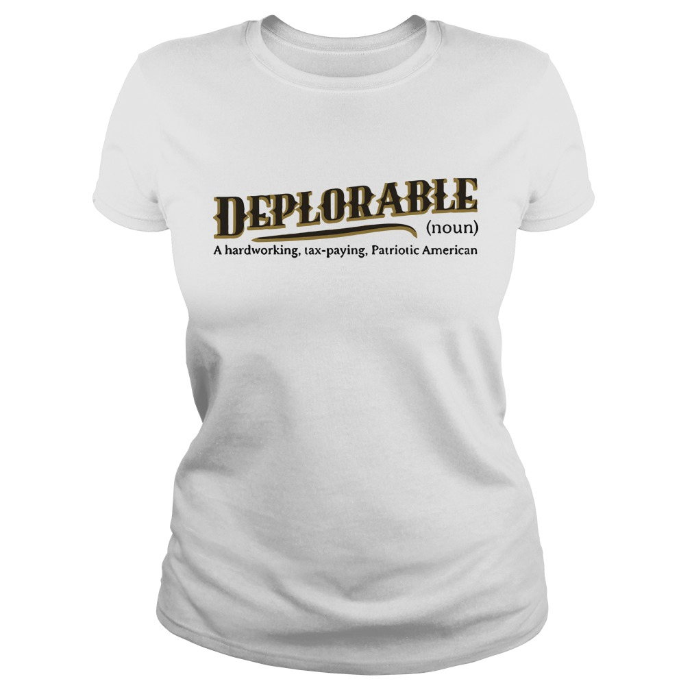 definition of deplorable Ladies