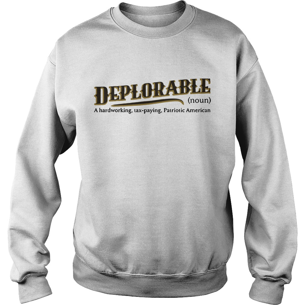 definition of deplorable  Sweater