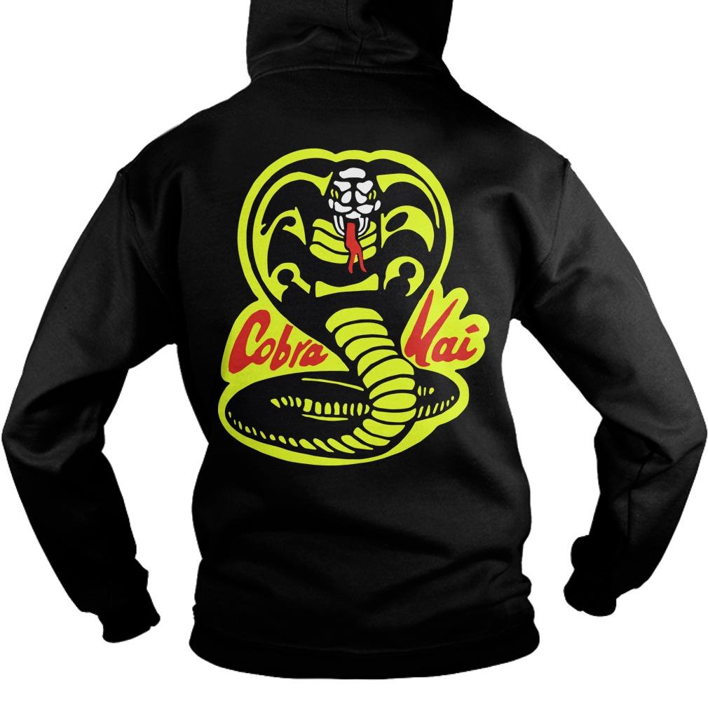 Fist Cobra Kai Back Hoodie
