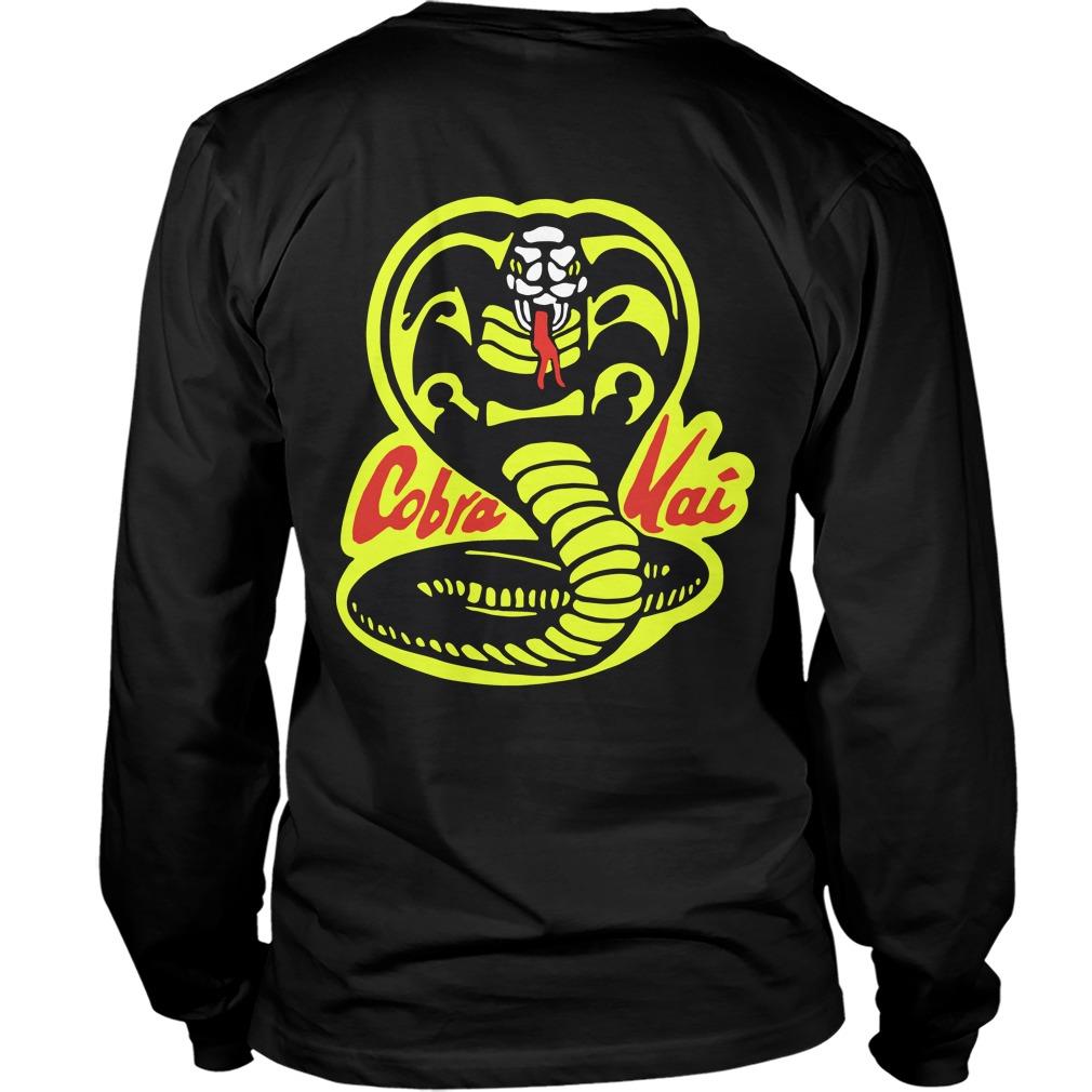 Fist Cobra Kai Back Longsleeve Tee