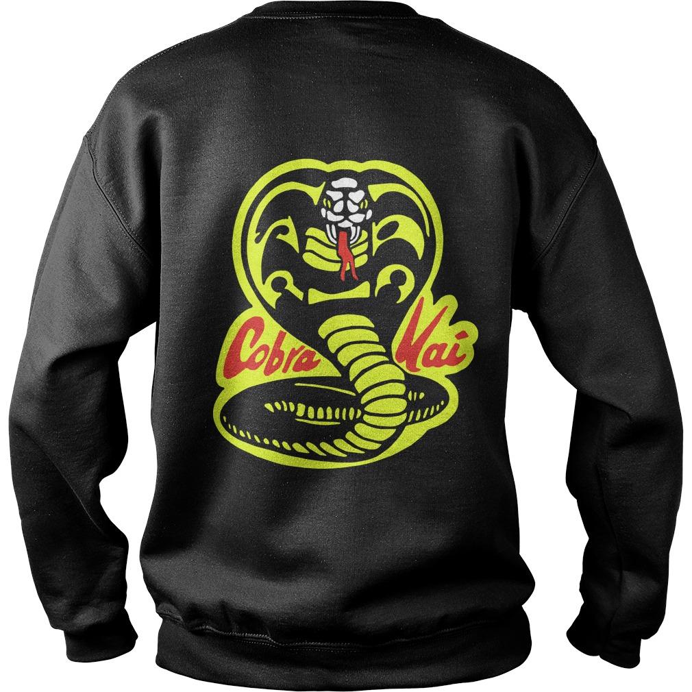 Fist Cobra Kai Back Sweater