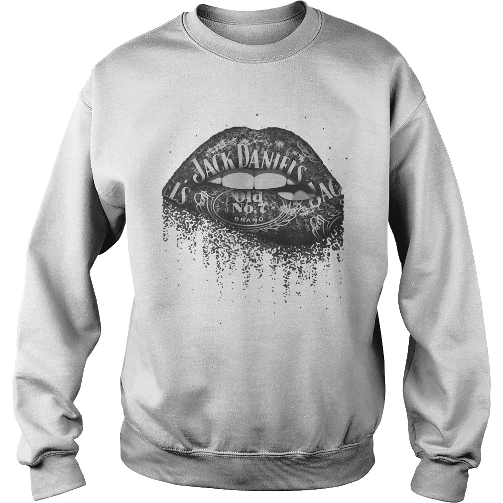 Jack Daniel's Whiskey Lips Sweater