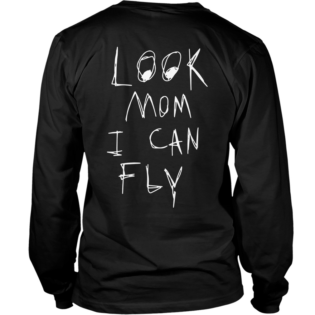 Nike Travis Scott Astroworld Look Mom I Can Fly Back Long Sleeve Shirt