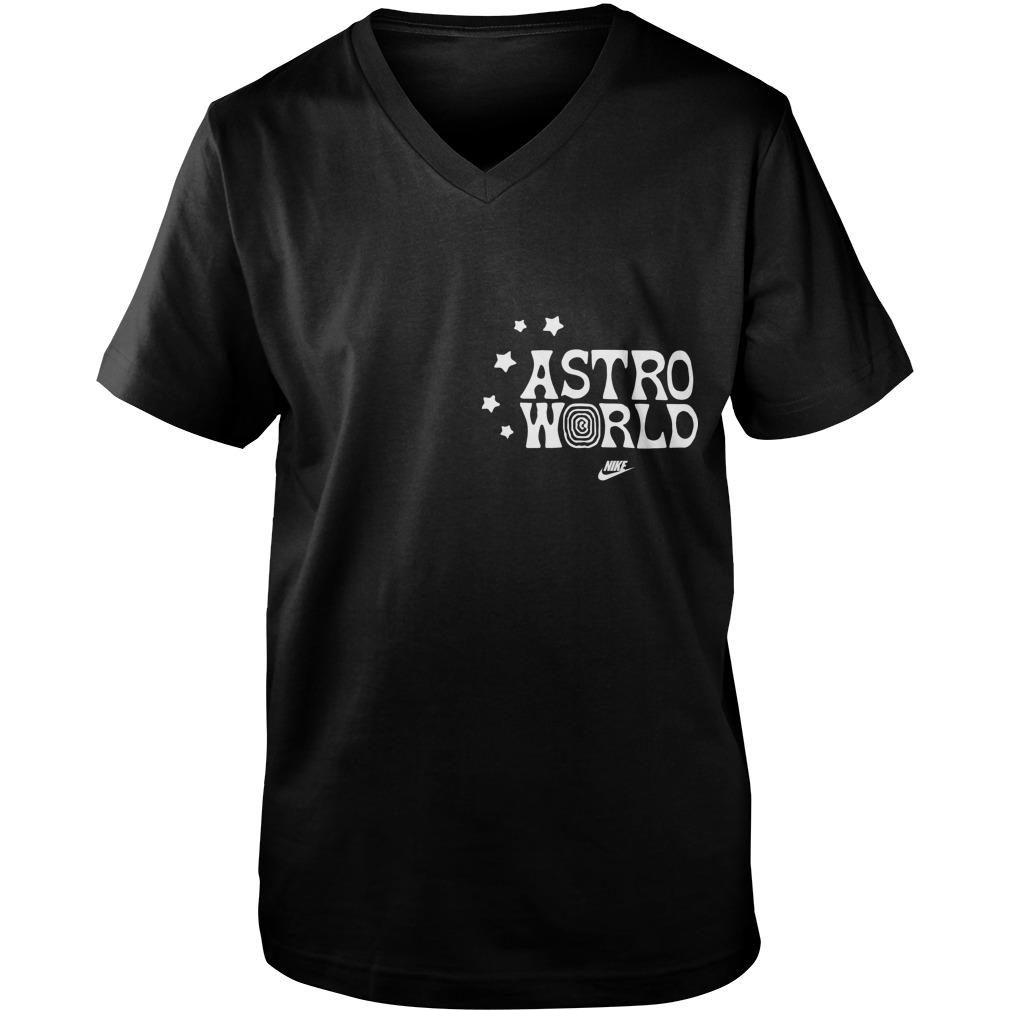 Nike Travis Scott Astroworld Look Mom I Can Fly Guys Vneck Shirt