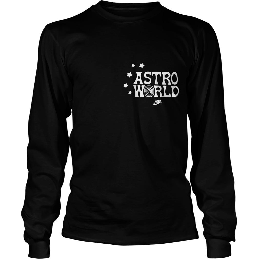 Nike Travis Scott Astroworld Look Mom I Can Fly Long Sleeve Shirt
