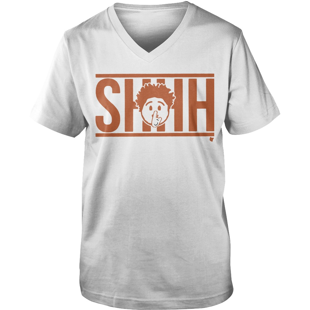 Shhh Emoji Guys V-Neck