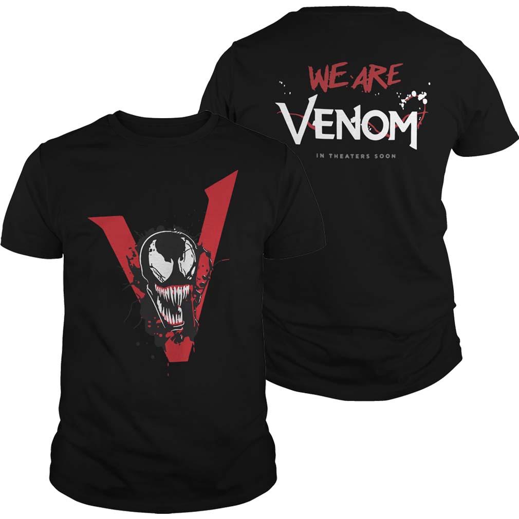 Tom Hardy Venom Movie T Shirt 2018 – Tom Hardy Venom We Are Venom Shirt