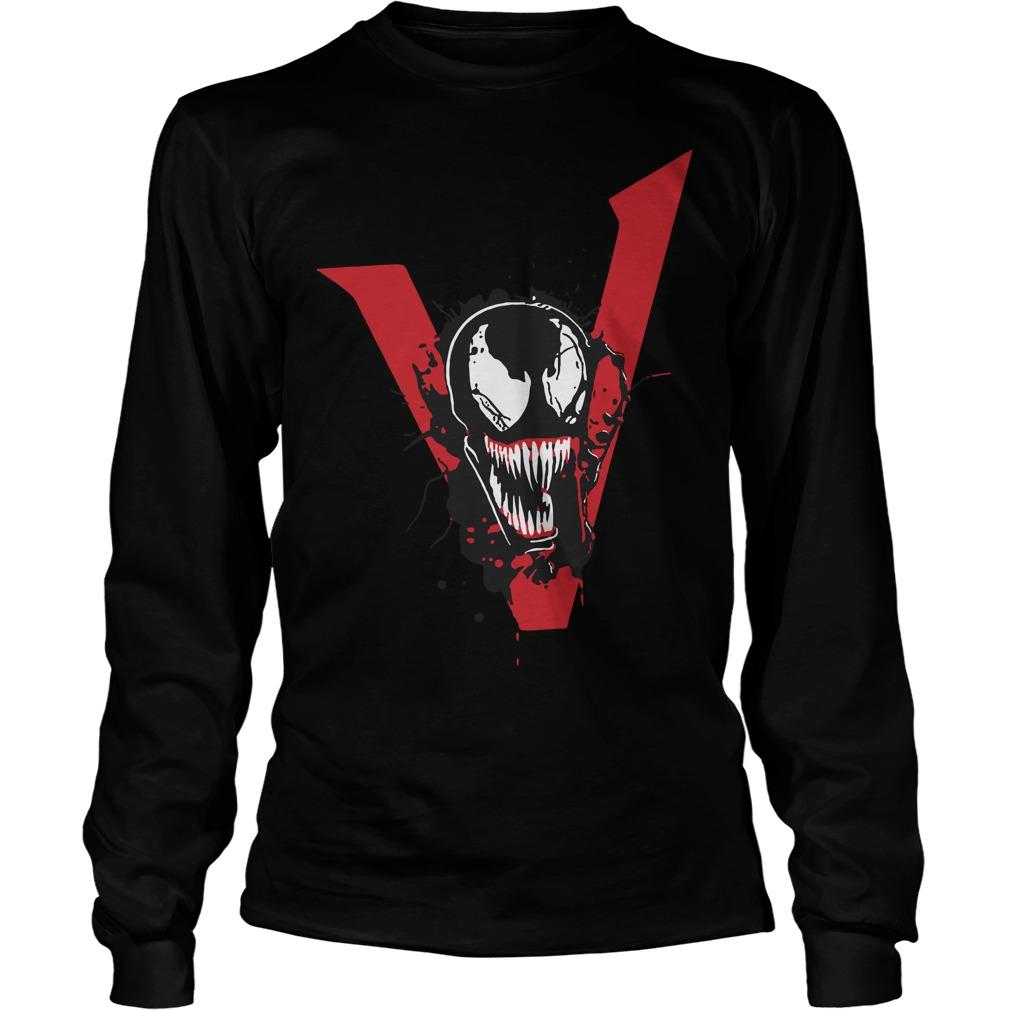 Tom Hardy Venom Movie T Shirt 2018 Longsleeve Tee - Tom Hardy Venom We Are Venom Longsleeve Tee