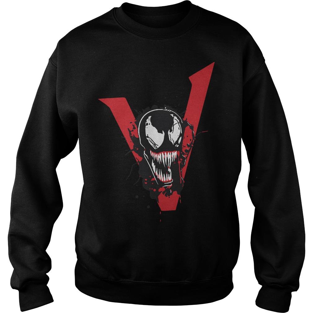 Tom Hardy Venom Movie T Shirt 2018 Sweater- Tom Hardy Venom We Are Venom Sweater