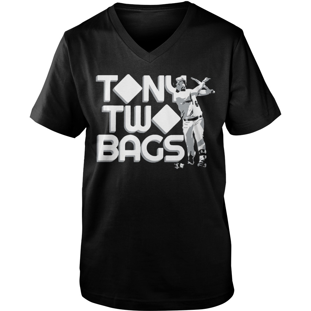 Tony Two Bags Guys V-Neck