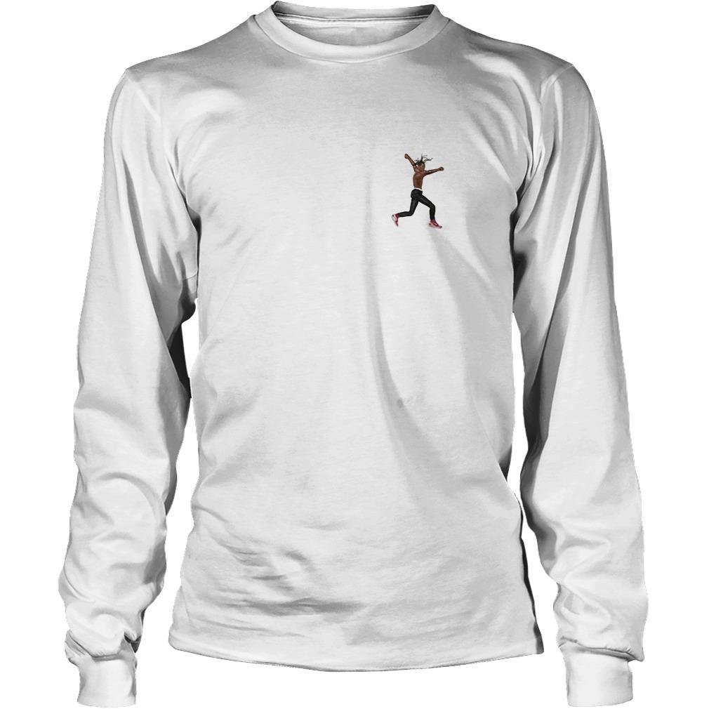 Travis Scott Virgil Abloh Astroworld 2018 Longsleeve Tee Shirt Air Jordan Iv Cactus Jack