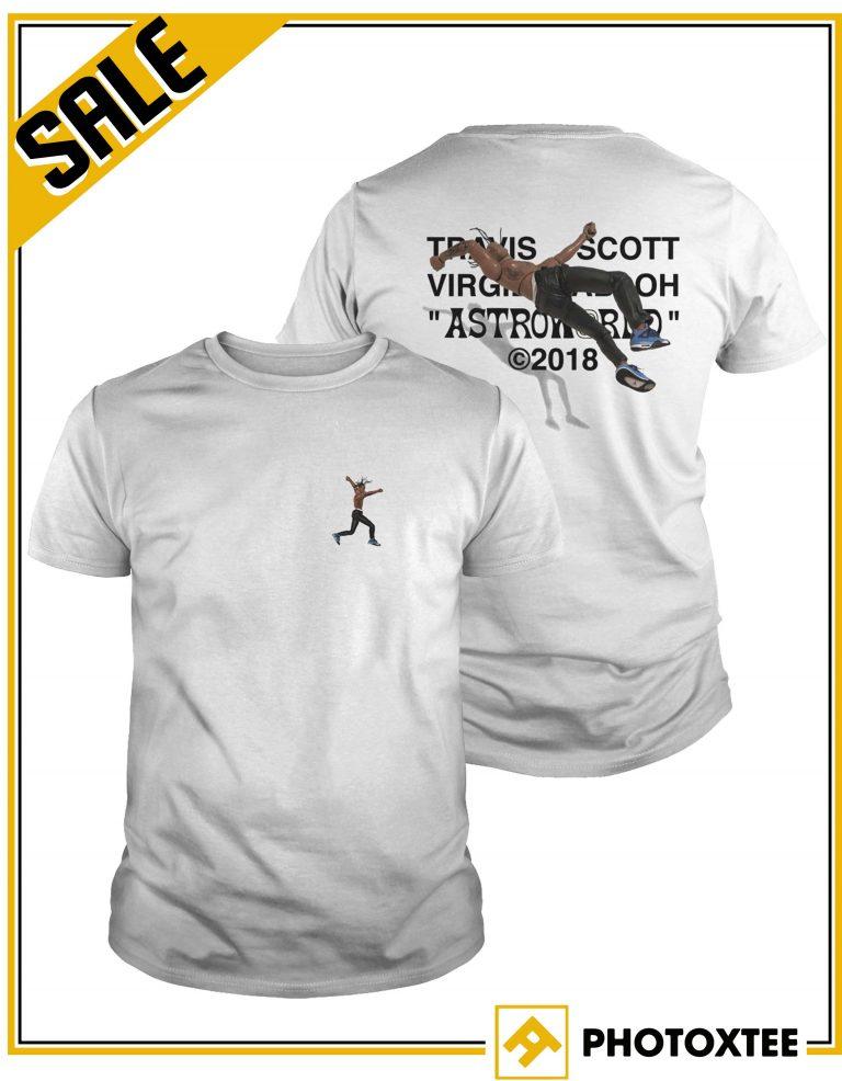 alta moda mitad de descuento precios de liquidación Travis Scott Virgil Abloh Astroworld 2018 Shirt Nike X Off White ...