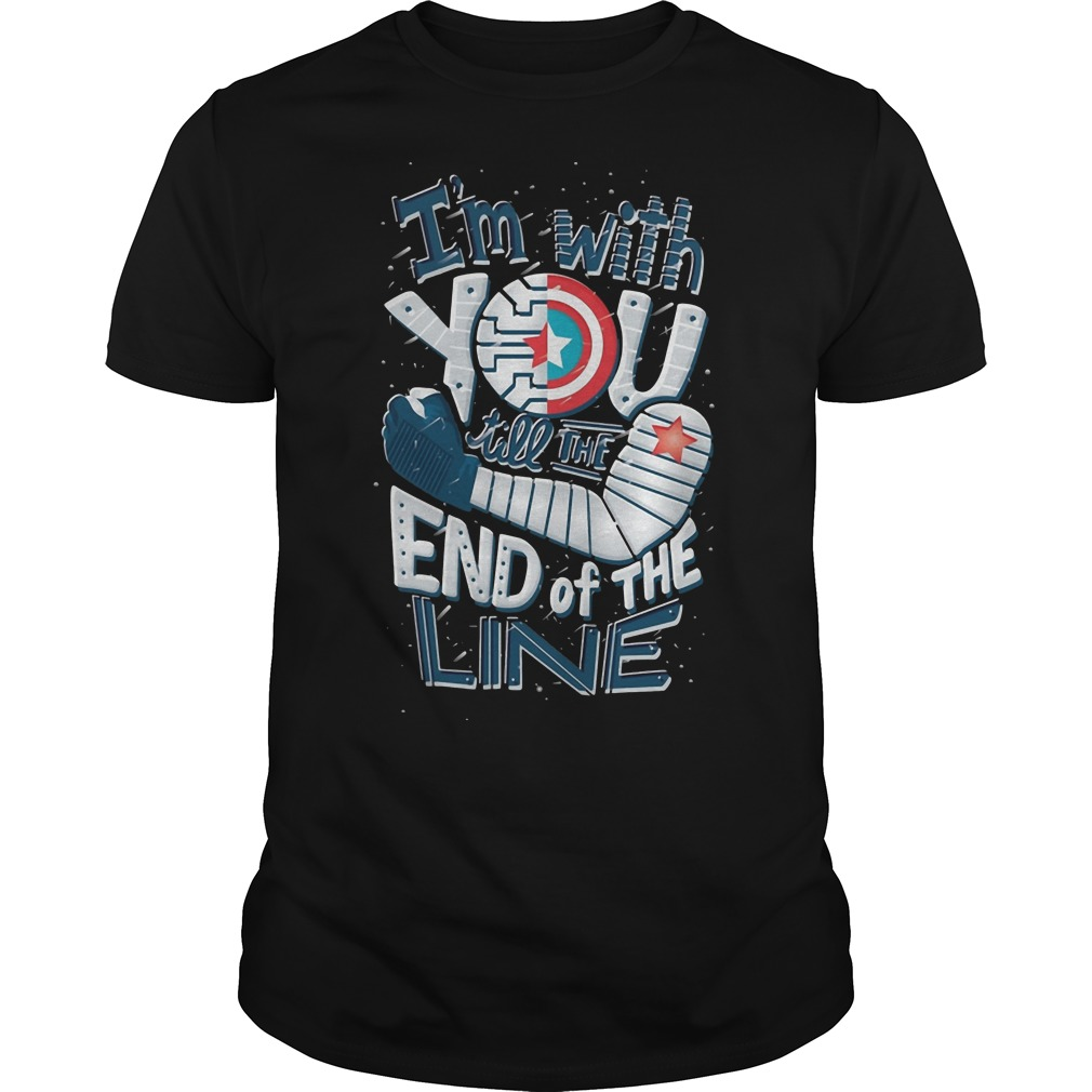 Winter Soldier I'm With You Till The End Of The Line Shirt