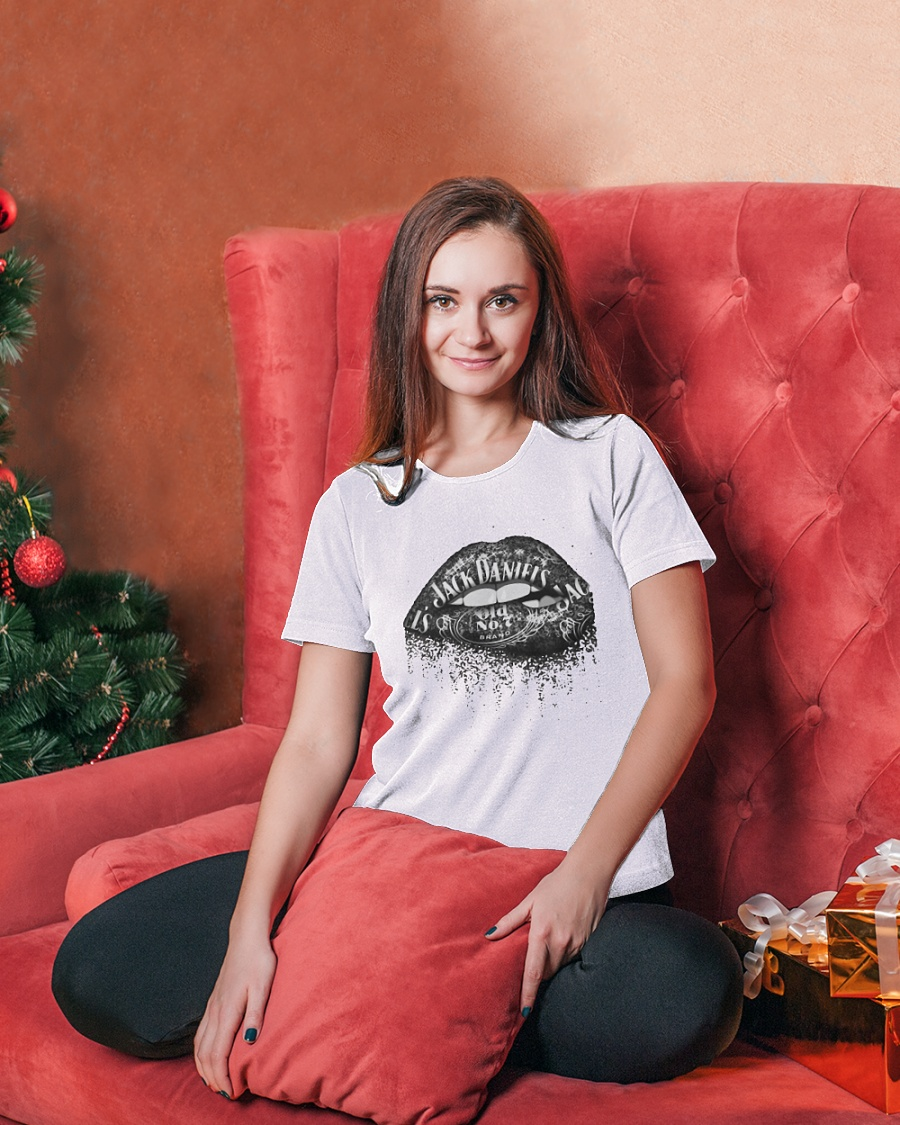 Jack Daniel's Whiskey Lips Shirt