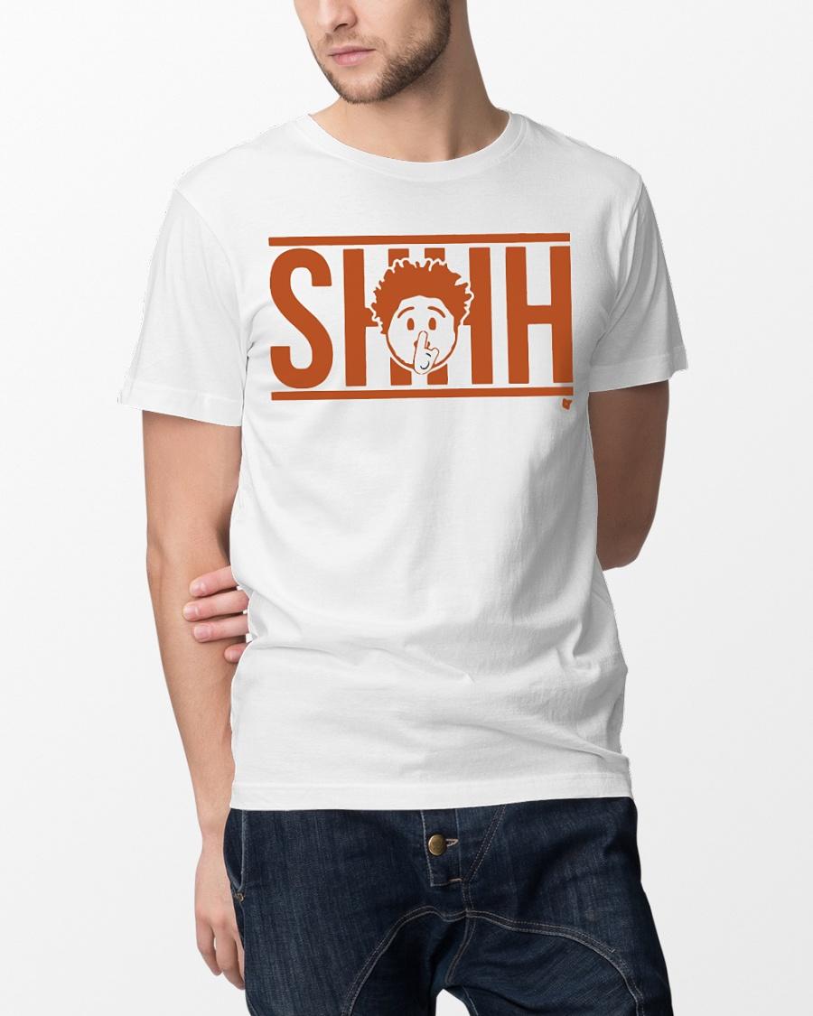 Shhh Emoji T Shirt
