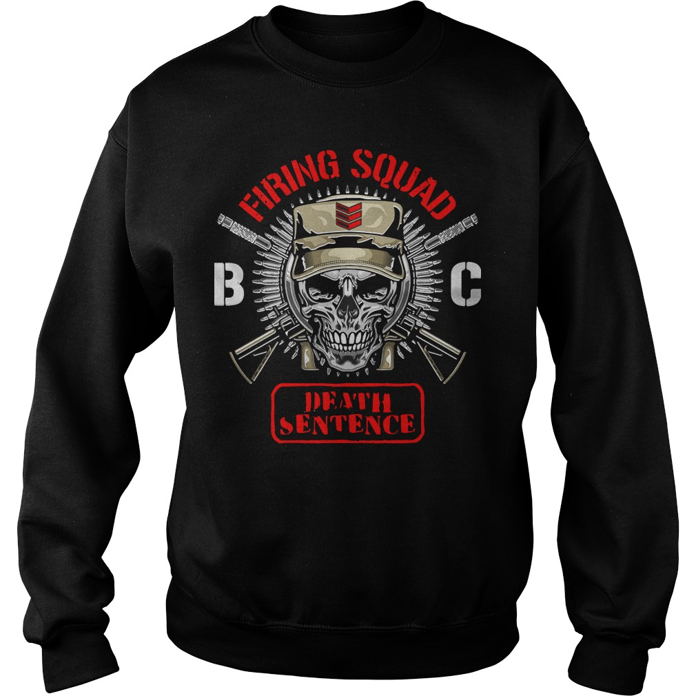 Bullet Club Firing Squad Sweater