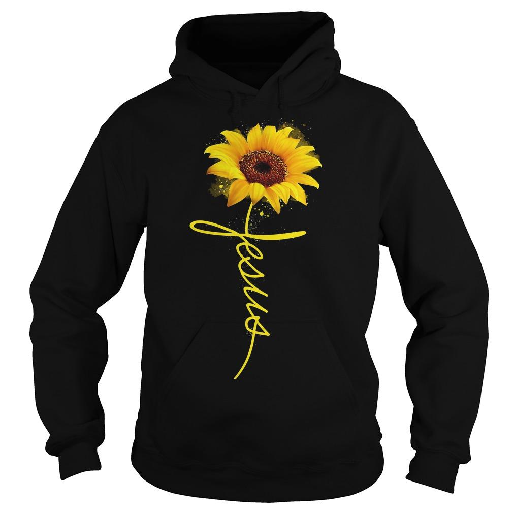 Official Wtc Sun Flower Jesus Hoodie