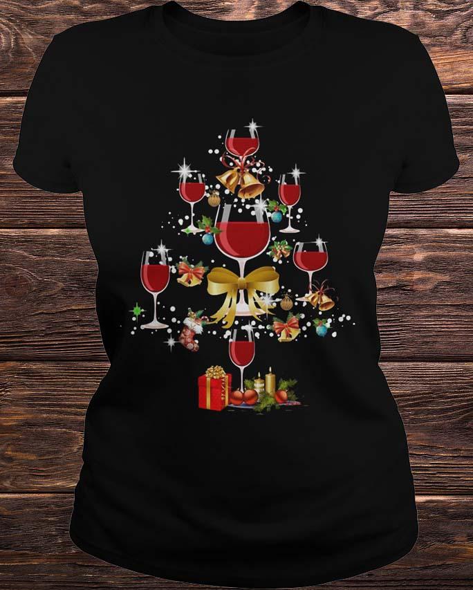 Wine Xmas Tree Ladies
