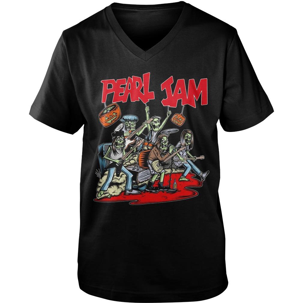 2018 Pearl Jam Halloween Guys V-Neck