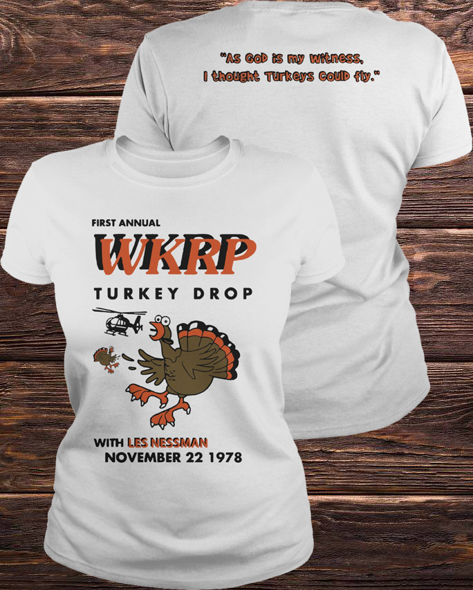 Best First Annual Wkrp Turkey Drop With Les Nessman November 22 1978 Ladies