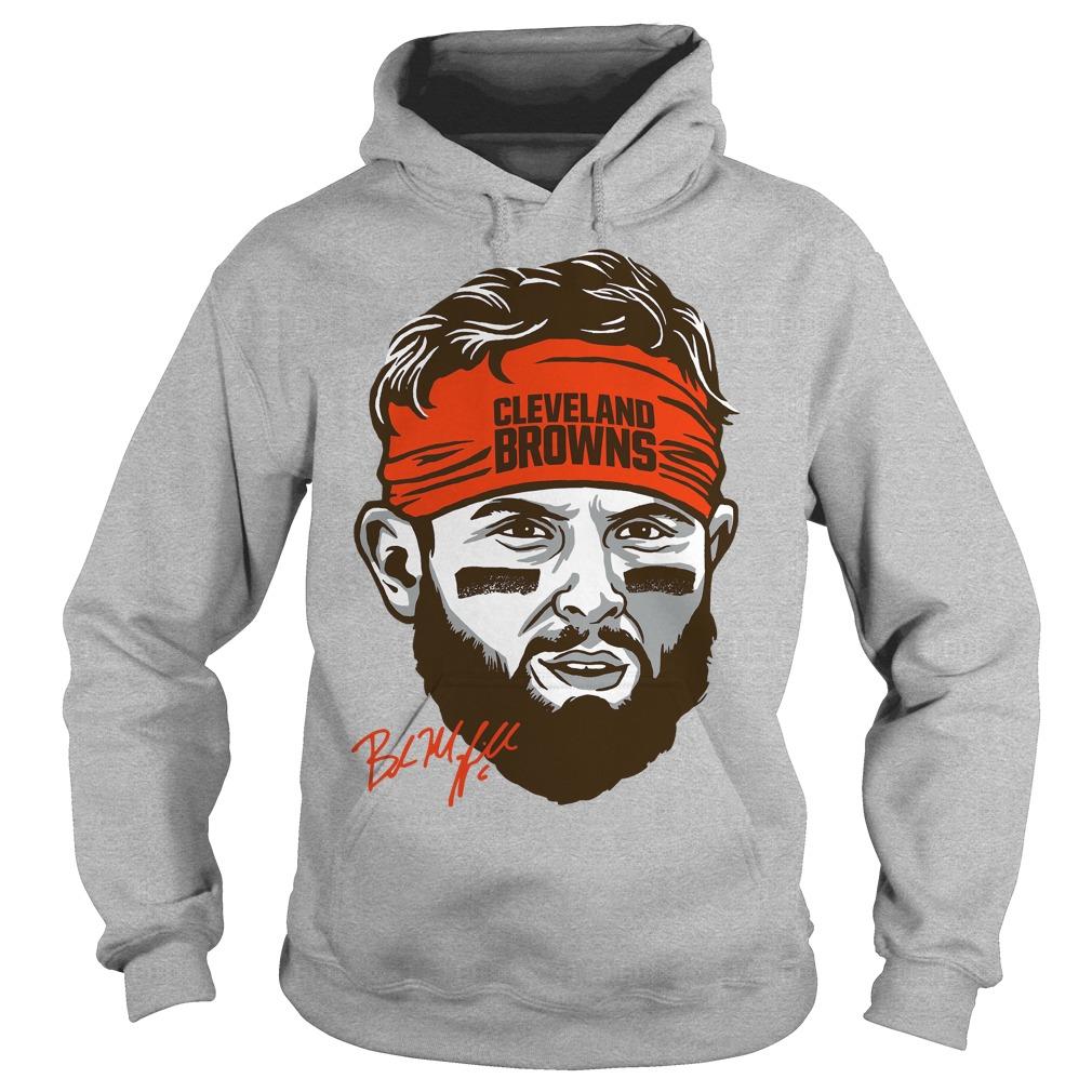 Cleveland Browns Baker Mayfield Headband Hoodie