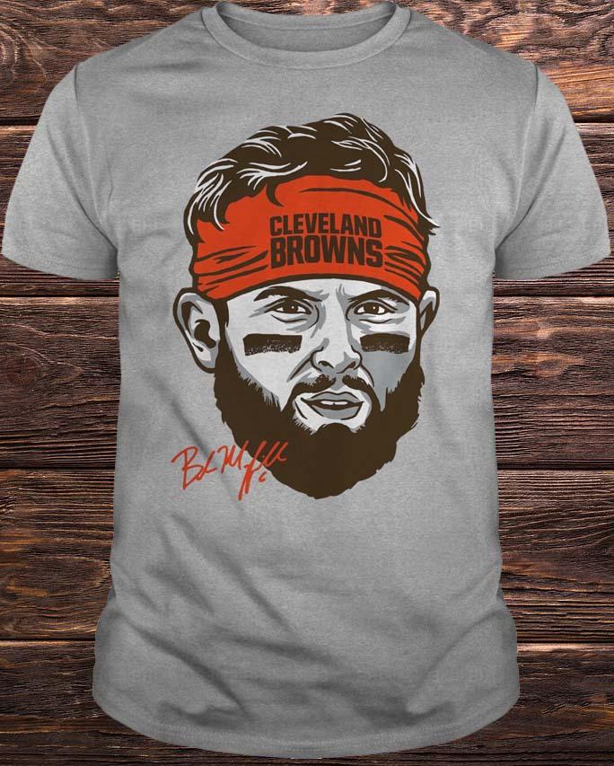 Cleveland Browns Baker Mayfield Headband Shirt