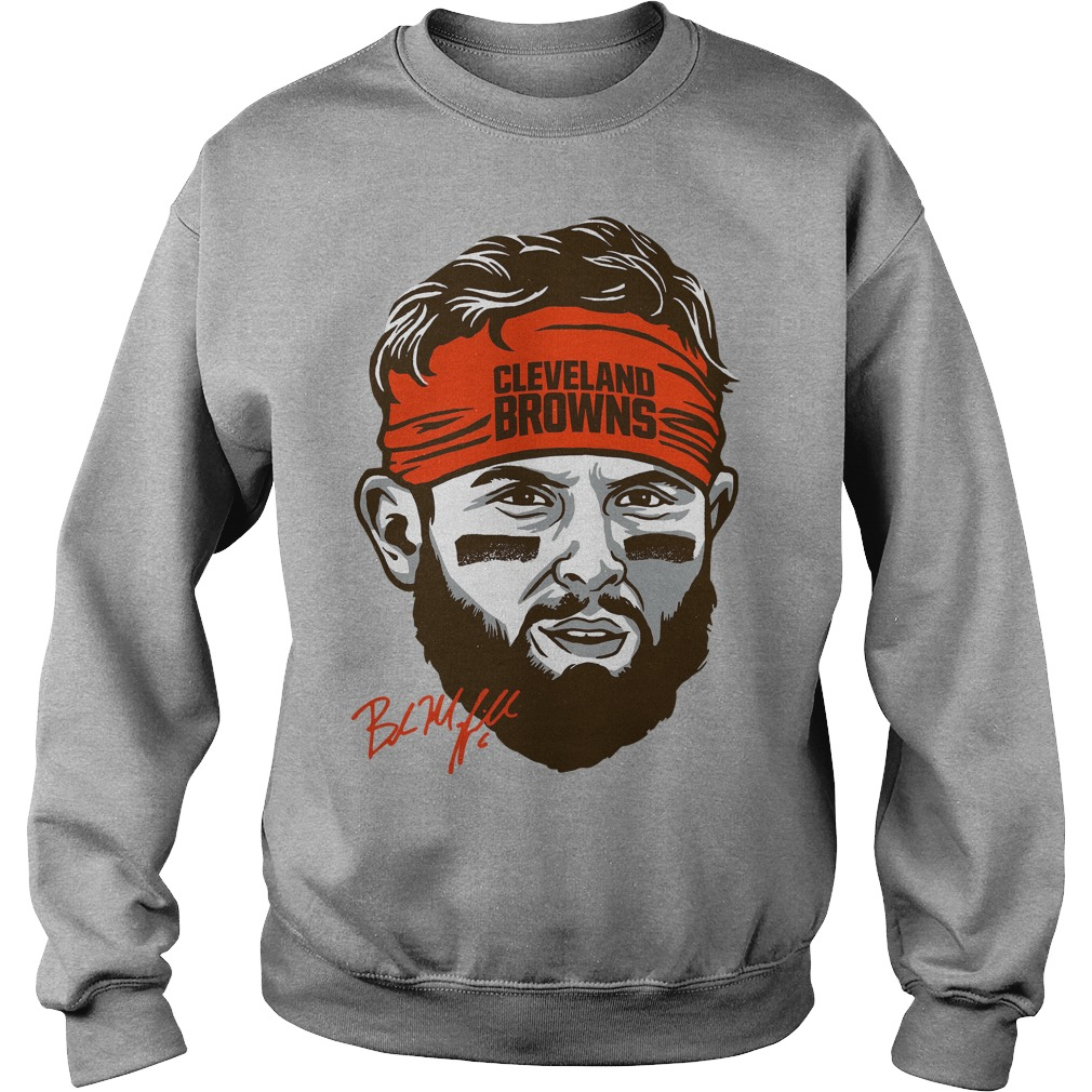 Cleveland Browns Baker Mayfield Headband Sweater