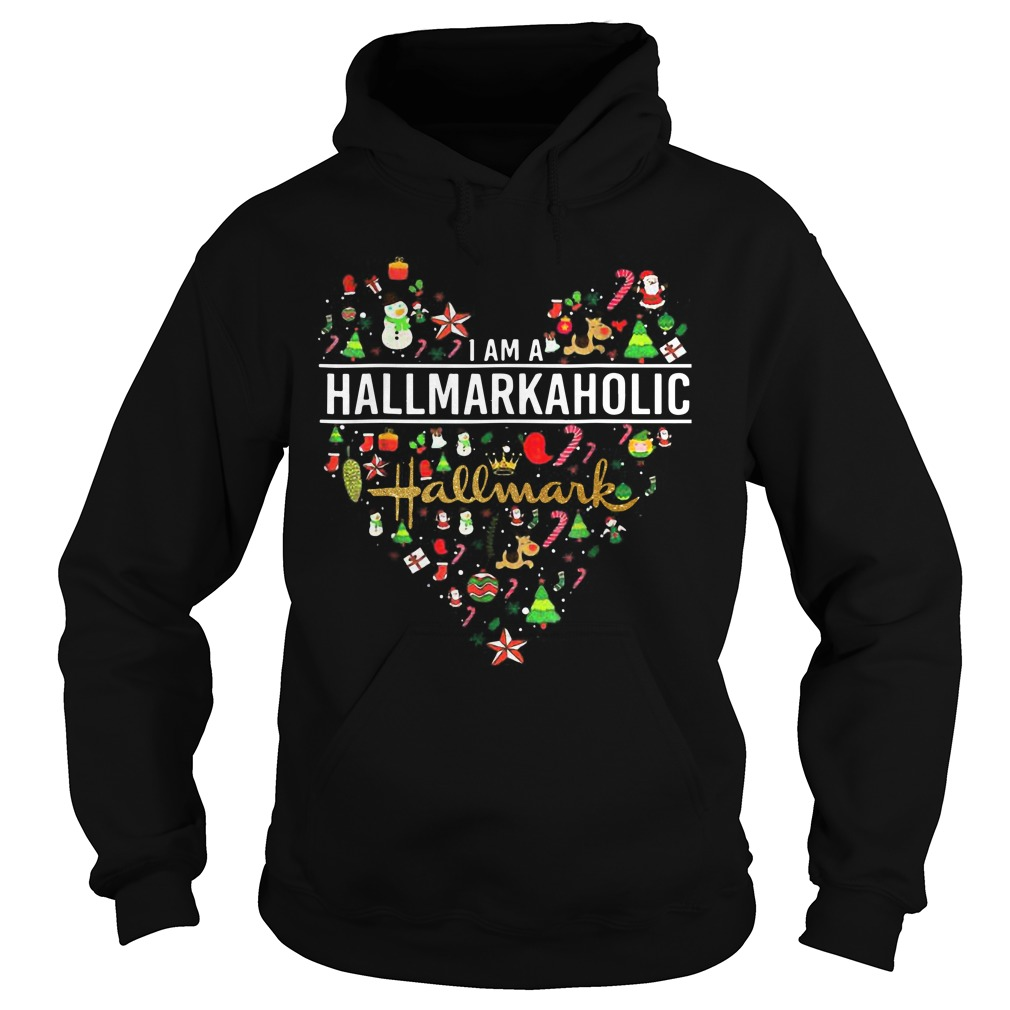 I'm A Hallmarkaholic Christmas Hoodie