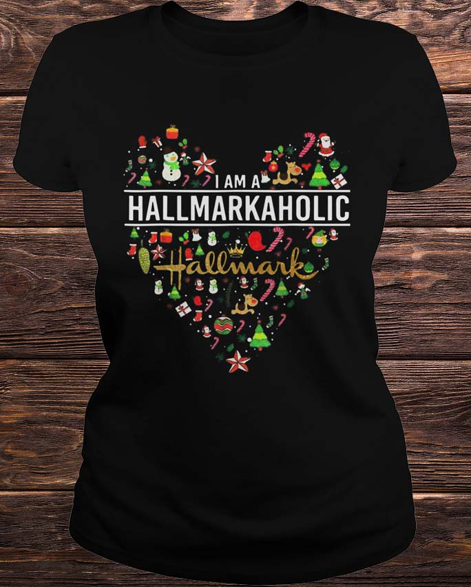 I'm A Hallmarkaholic Christmas Shirt