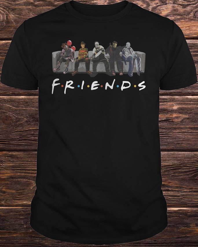 Pennywise It Leatherface Krueger Jason Voorhees Myers Shirt