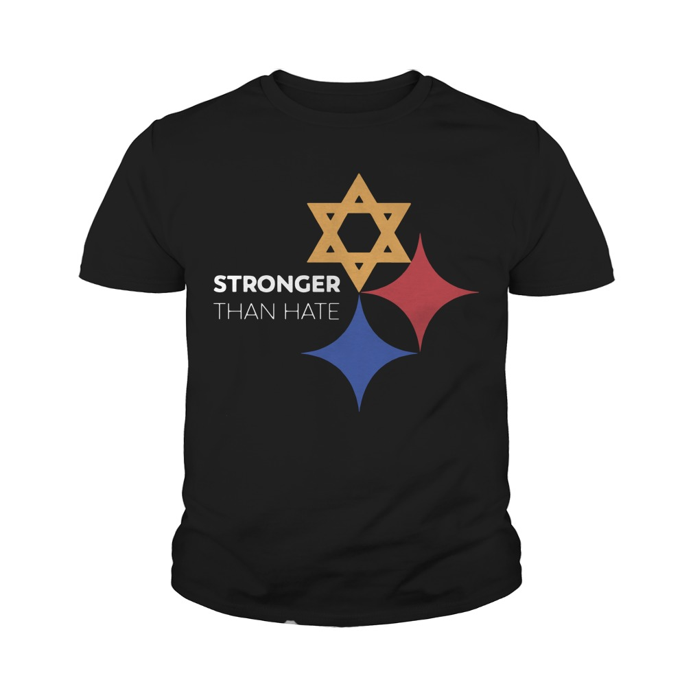 Pittsburgh Stronger Than Hate Youth Tee