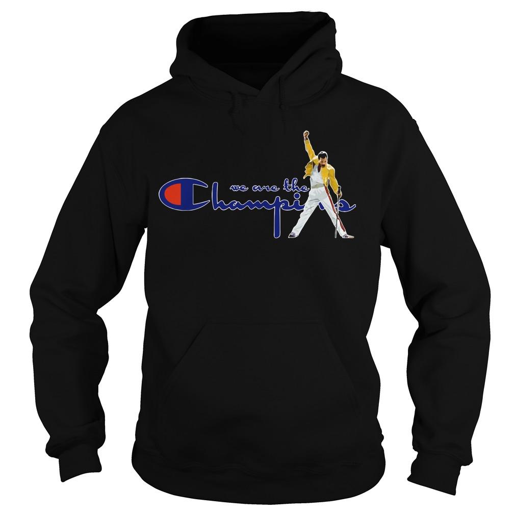 Boston Red Sox Freddie Mercury We Are The Champions Hoodie