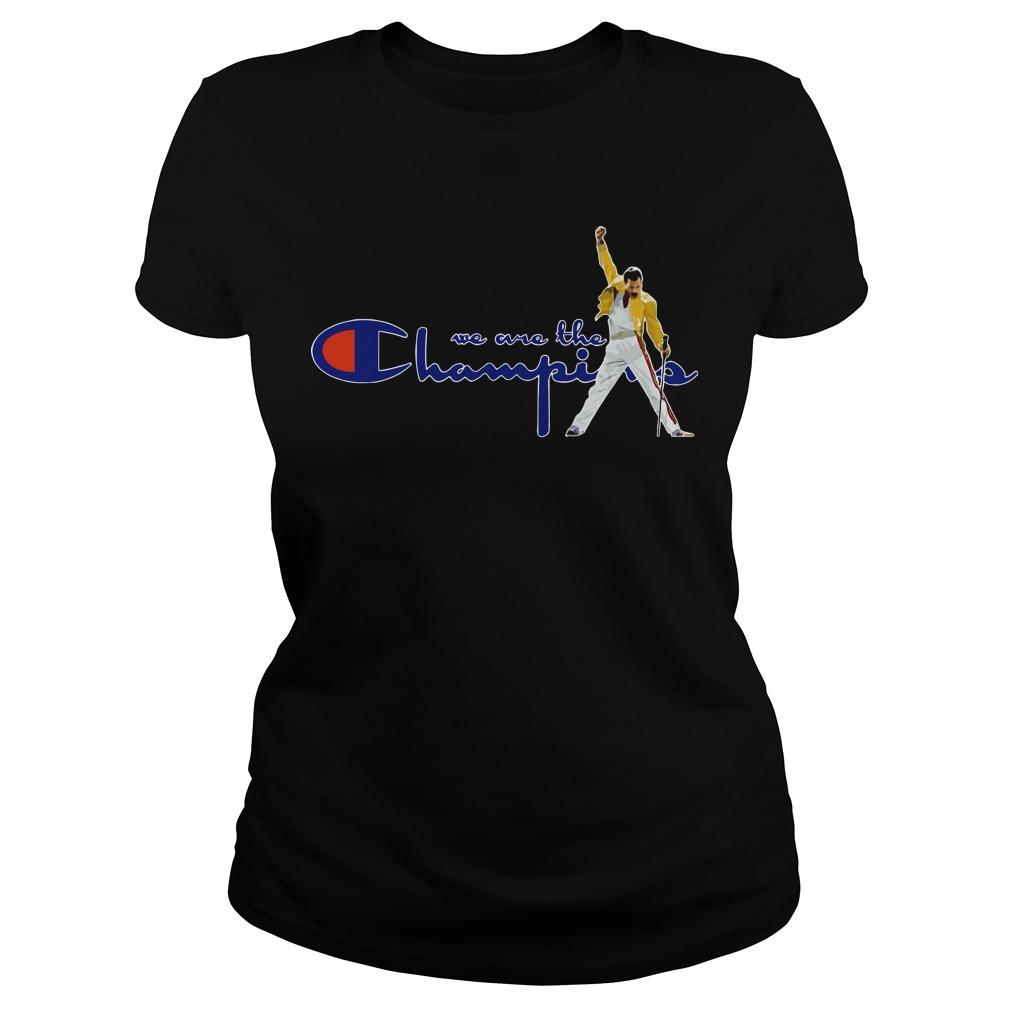 Boston Red Sox Freddie Mercury We Are The Champions Ladies
